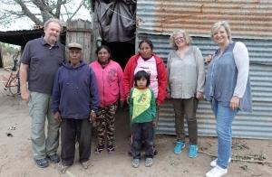 Besuch im Dorf der Indigenen